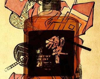 Hibiki Whisky Poster - WhiskyArt (DOWNLOAD)