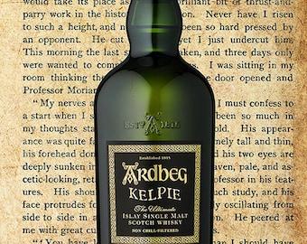 Ardbeg Whisky Poster - WhiskyArt (DOWNLOAD)
