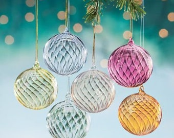 hand blown venetian glass christmas ornaments - Blown Glass Christmas Ornaments