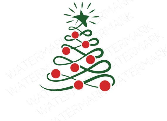 Christmas Tree Cutout.Merry Christmas Tree Cutout Files For Cricut Svg And Silhouette Studio File Cut Out Stencil Decal Holiday Logo Svgs