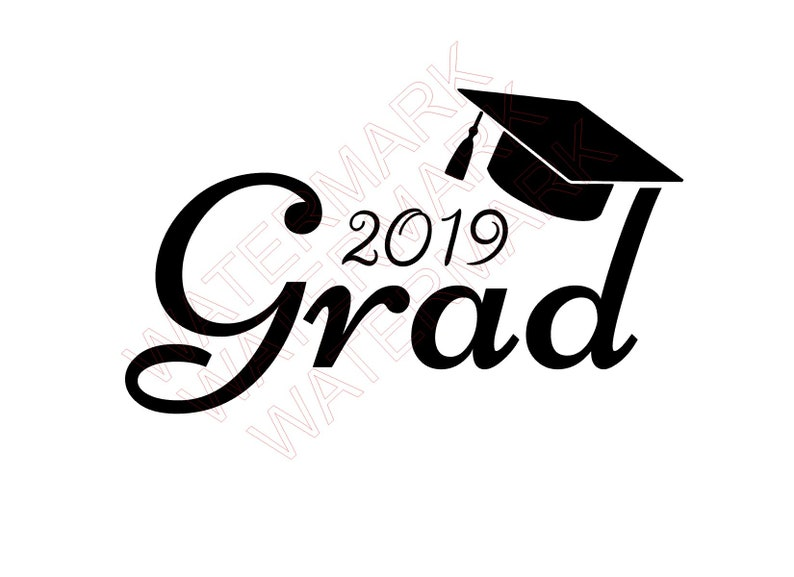 Class Of 2019 Cutout Files for Cricut SVG and Silhouette Studio File Cut  Out Stencil Decal Logo SVGS Graduation 2019