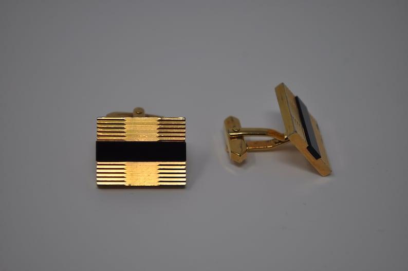 Vintage Gold-Tone Cufflinks