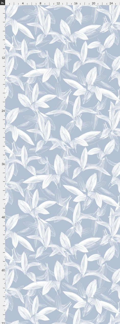 Blue White Floral Wallpaper Removable Traditional Wallpaper Peel And Stick Wallpaper Floral Wallpaper Self Adhesive Wallpaper