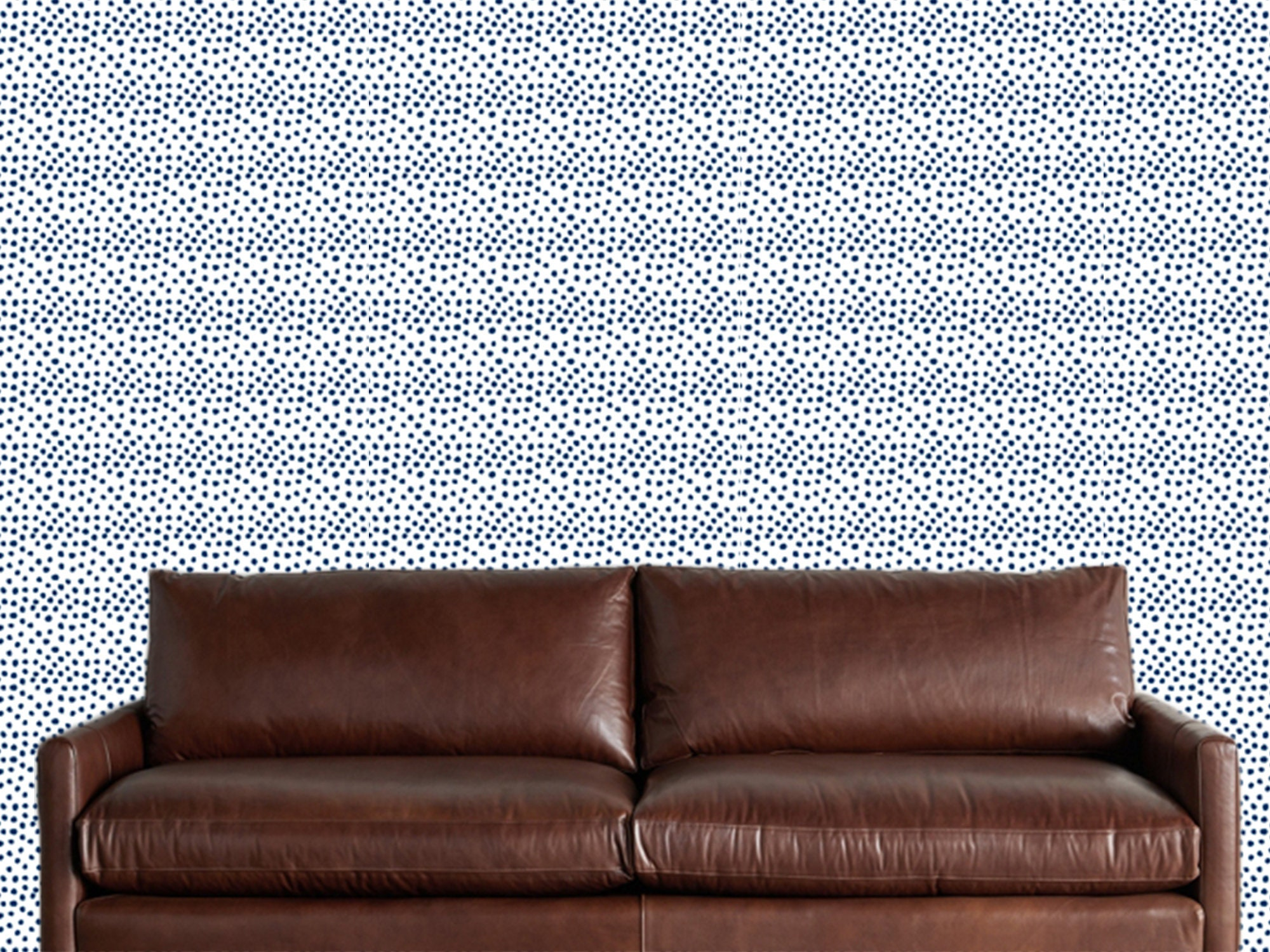 Navy Blue White Dots Abstract Wallpaper Removable Traditional Wallpaper Peel And Stick Wallpaper Blue Wallpaper Self Adhesive Wallpaper