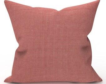 Retro Tiki Pillow Cover Crimson Mambo Chris Stone Repro