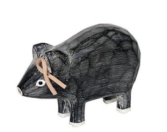 T-lab polepole animal monotone series Pig gray