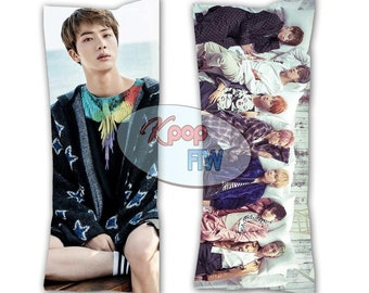 BTS Pillow you never walk alone Jungkook body   Etsy