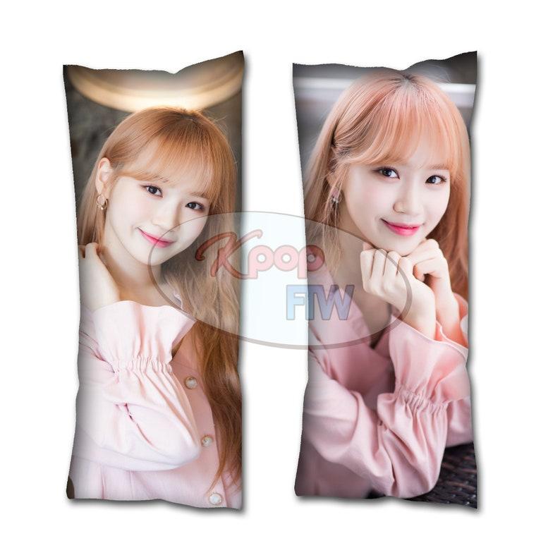KPOP IZONE Heart Iz Chaewon Body Pillow Style 2// Kpop Body Pillow //  Dakimakura // Kpop Gift