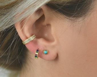 c08ff5fc7 Turquoise stud Earrings, Gold Studs, Gold Stud Earrings, Minimalist Stud  Earrings, Dainty Stud Earrings, Tiny Studs, turquoise earrings