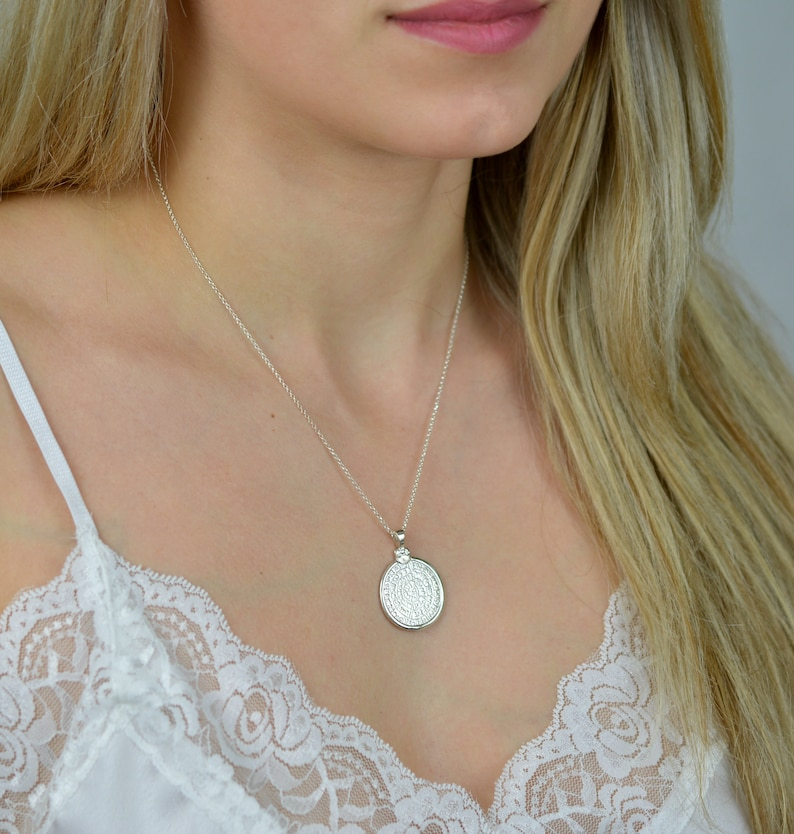 greek necklace greek jewelry statement necklace layered necklace coin necklace phaistos disc necklace dainty necklace disc necklace
