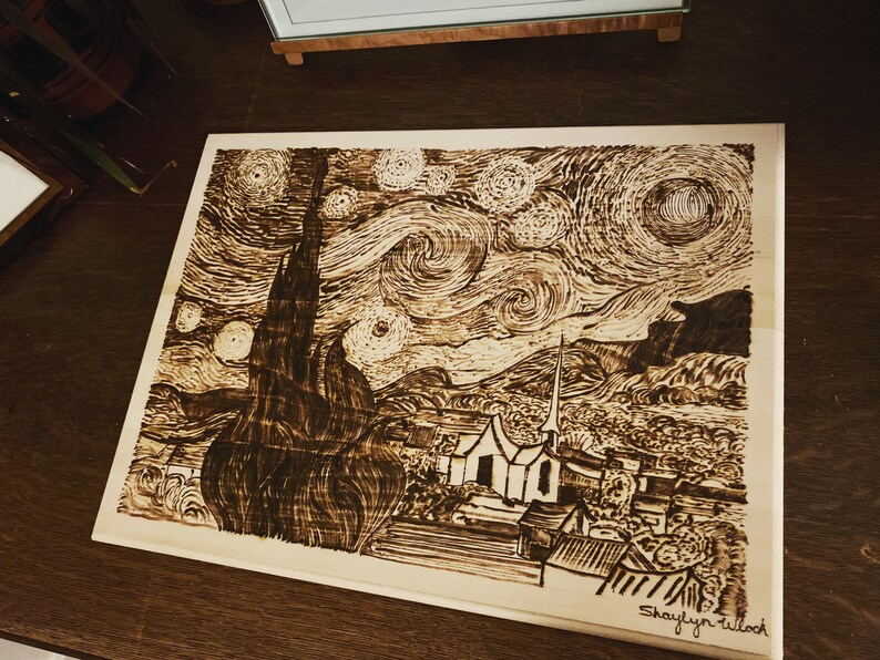 Van Gogh\u2019s \u201cStarry Night\u201d