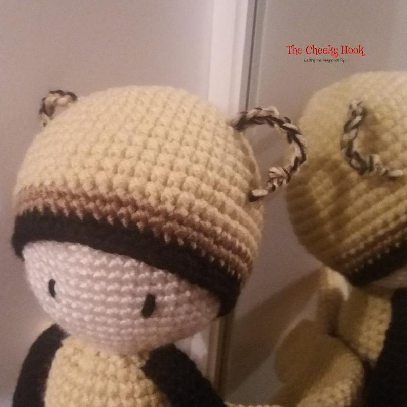 Crochet Bee Pattern Amigurumi Yellow Bee Tutorial DIY | Etsy | 794x794