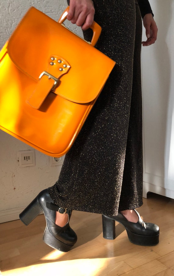 60s top handle bag