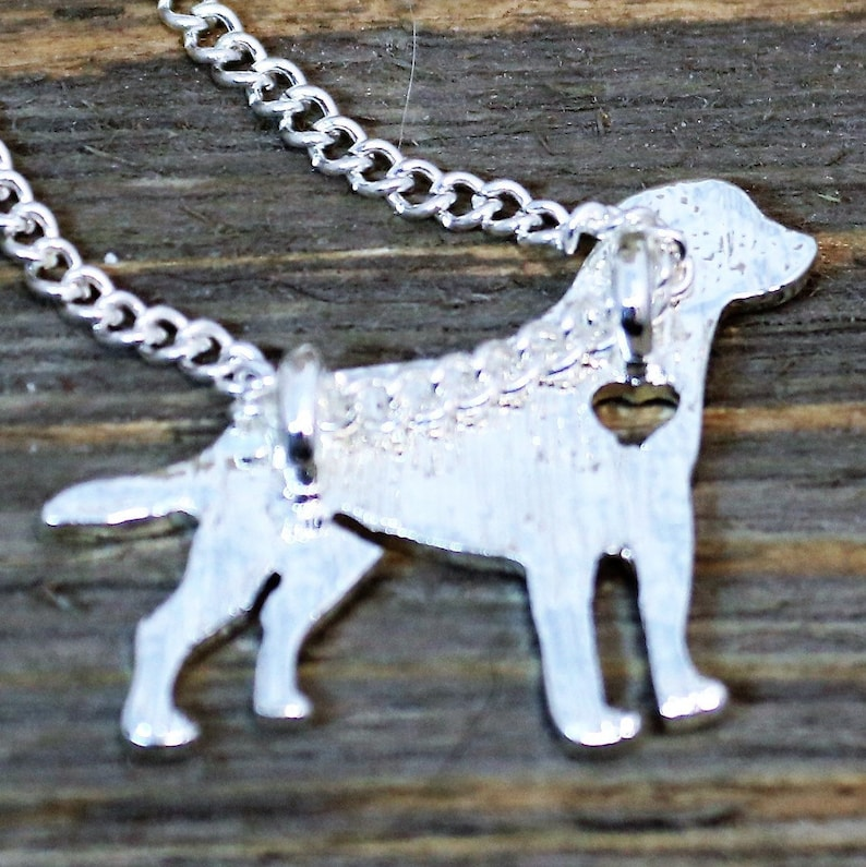Lab Necklace Accessory Gift for Her Dog Mom Jewelry Silver Labrador Retriever Lover Necklace labrador Retriever Charm Pendant Necklace