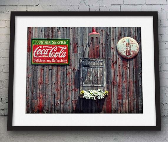 Printable Coca-Cola Print Coke Print Coke Art Wall Decor   Etsy