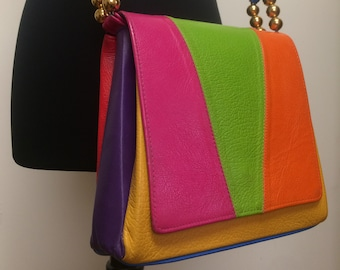 c48f800290de Vintage Multi-Color Purse