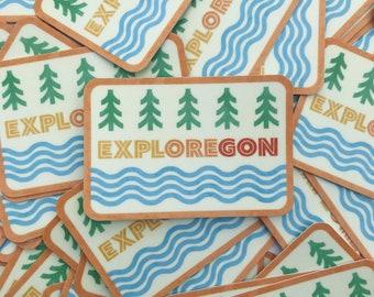Exploregon Sticker