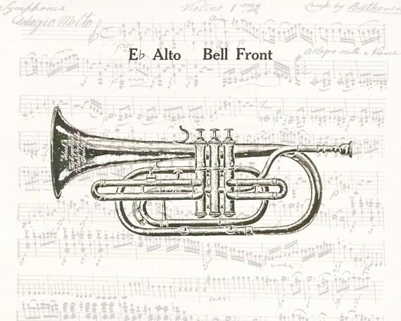 trompette vent instruments de musique stock illustration vectorielle -  Telecharger Vectoriel Gratuit, Clipart Graphique, Vecteur Dessins et  Pictogramme Gratuit