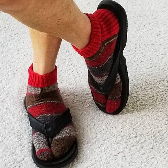Chaussettes blanches japonaises Ninja Geisha Kimono chaussettes Tabi pour unisexe Geta