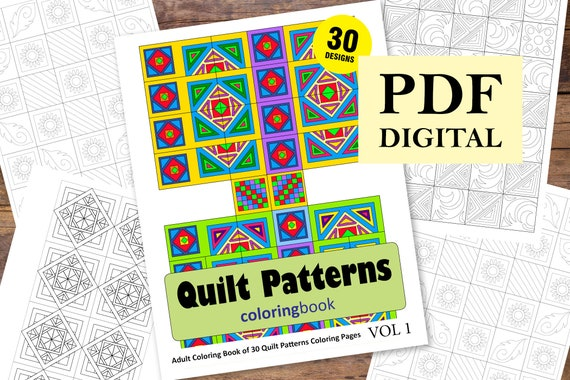 Pattern Coloring Printable Pattern Coloring Pages Detailed Quilt ... | 380x570