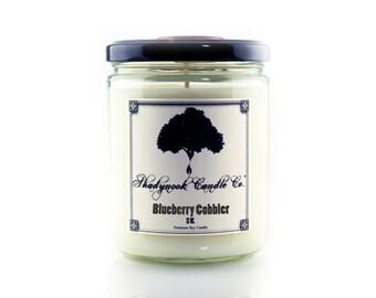 Blueberry Cobbler Premium Soy Candle