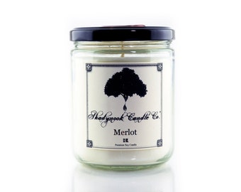 Merlot Premium Soy Candle