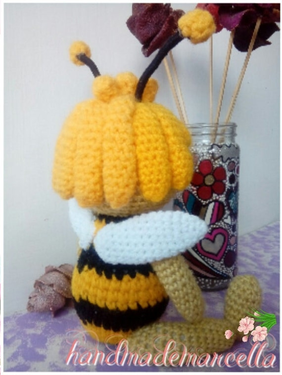 Auf Verkauf Biene Maja Amigurumi Biene Maja Häkeln Biene Etsy