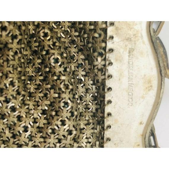 Antique Mandalian Mfg. Co. USA - Enameled Mesh 19… - image 6