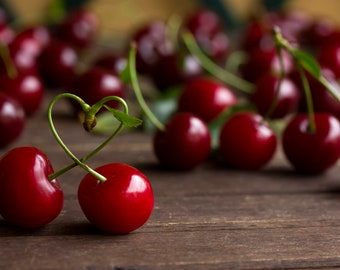 Cherry in Love Photography in the Summer 1