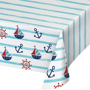 100 pieces red sailboat navy anchor table confetti nautical theme baby shower wedding birthday party table scatter