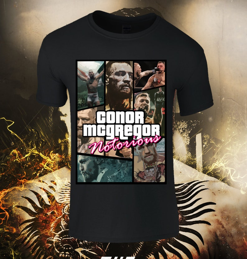 T-shirts Tops & Tees Latest Collection Of Mma Conor Mcgregor Rocky Balboa T-shirt Boxer T-shirt Conor The Notorious T-shirt
