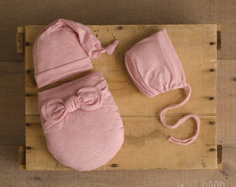 Wonder Wrap • 3 Pieces Set • Hatchi Pink