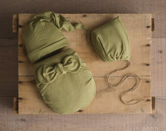 Wonder Wrap • 3 Pieces Set • Olive Textured