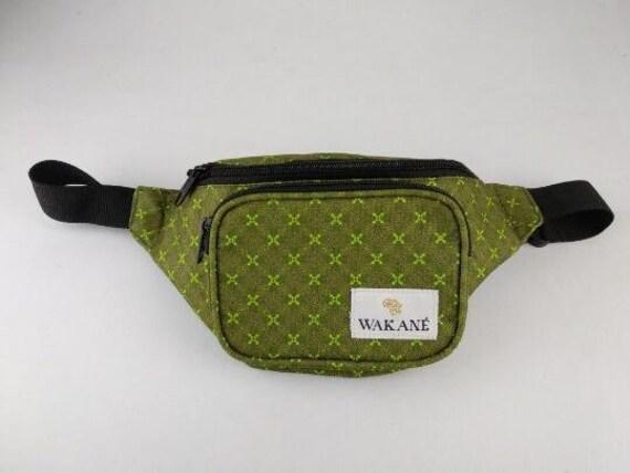 Wakane Wax Print Backpack