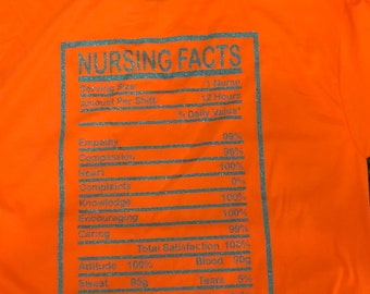 Nurses facts T-shirt