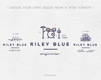 Logo Design, Business Logo Design, modernes Premade Logo, conception de Logo de calligraphie, photographie Logo, Branding kit, moderne, image de marque, Logo blog