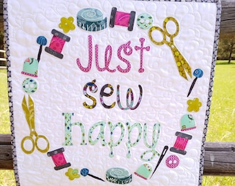Just Sew Happy Laser Cut Quilt Kit