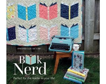 Book Nerd Quilt Pattern - by Angela Pingel