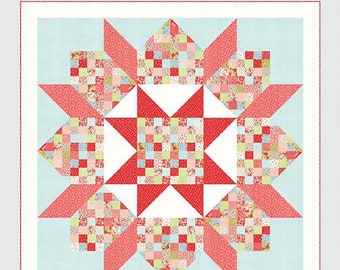 Patchwork Swoon Quilt Pattern From Thimble Blossoms By Roskelley, Camille