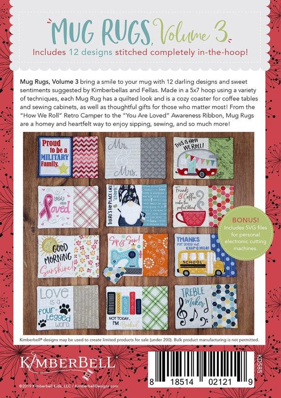 Kimberbell Holiday /& Seasonal Mug Rugs Volume 1 CD KD507