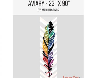 Aviary Laser Cut Quilt Kit - Free Shipping