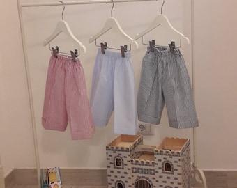 English Cotton Bermuda Shorts