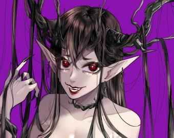 Pro Vtube design,pin up, Anime commission art, custom anime character design and illustration digital art