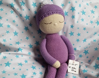 3e39eb198 Custom weighted doll Custom crochet preemie doll in your size weight Doll  the size of a preemie till 4 lbs