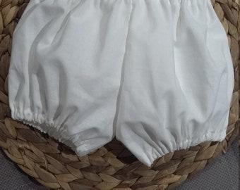 Handmade baby girl shorts bloomers