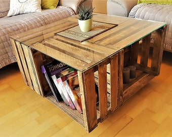 Couchtisch Holz Etsy