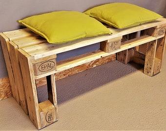 Antique Palettenbank Antique Palettenmöbel bench wooden bench garden bench bench industrial bench Shabby Chic vintage