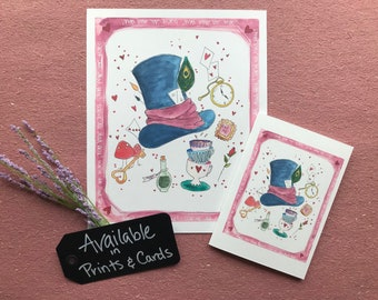 Mad Hatter Card