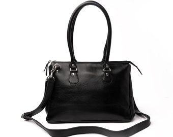Leather Handbag Women, Leather Shoulder Crossbody bag, Leather Carryall Bag, Handmade Tote Bag, Personalized Handbag, Gifts For Women