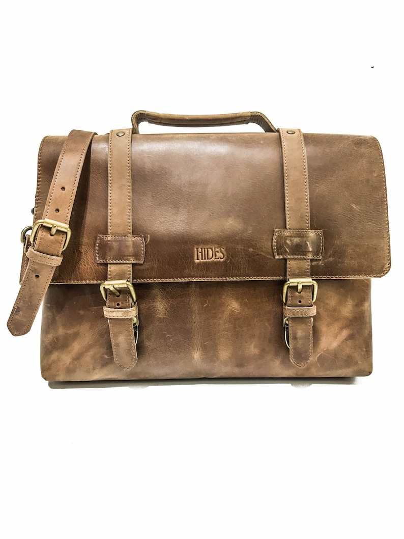 Leather Messenger Bag Leather Briefcase Leather Laptop Bag  b9a98920e7258